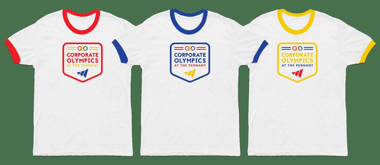 Corporate Olympics T-Shirts